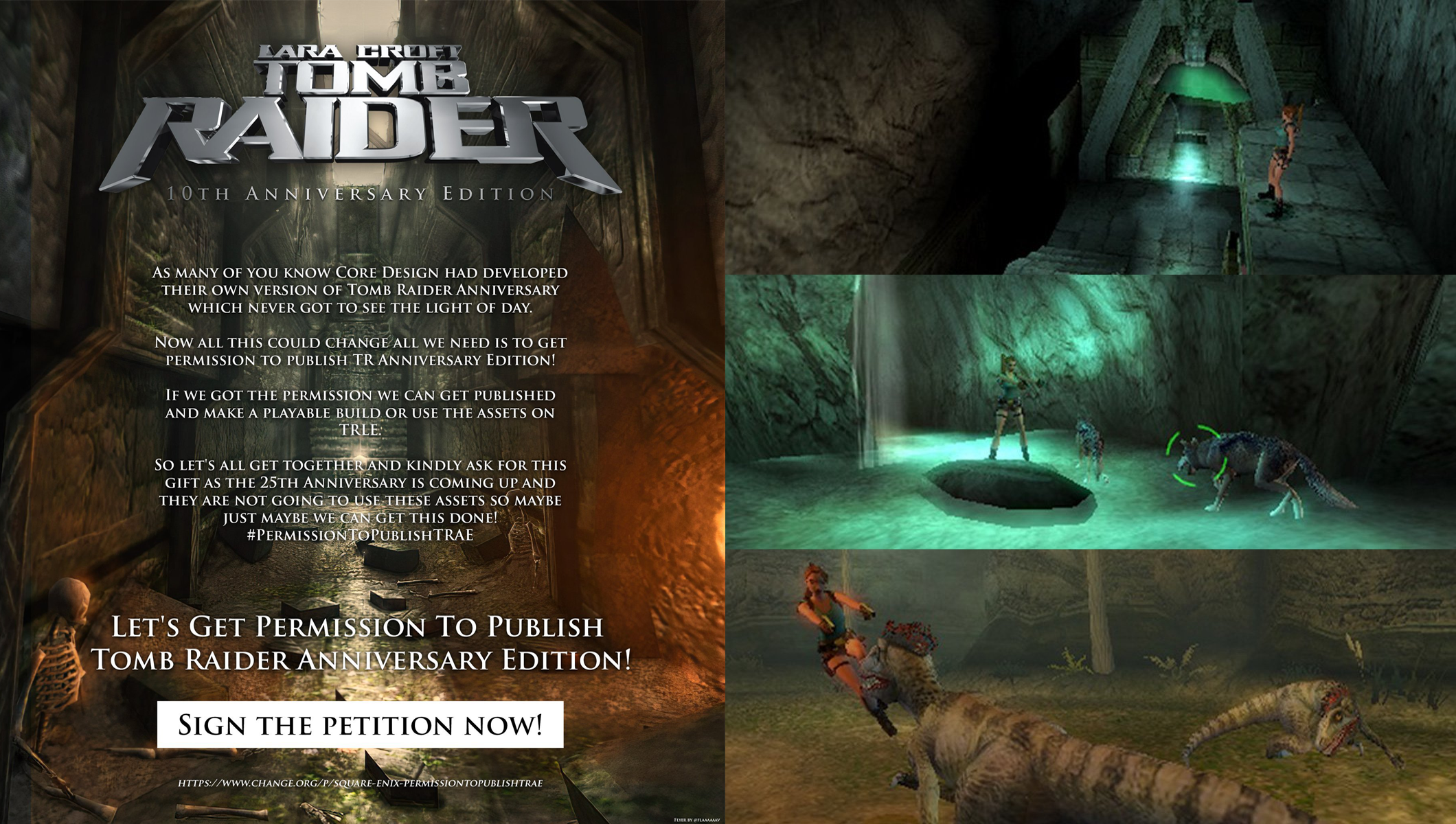We Need Your Help Tomb Raider Anniversary Edition Tomb Of Ash