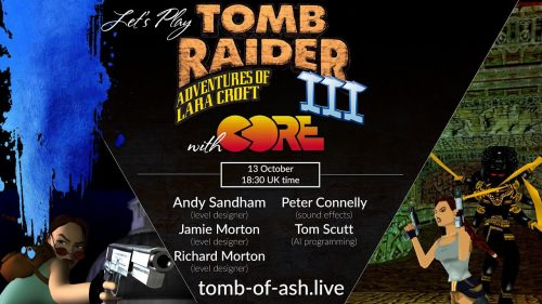 [LIVE] Playing Tomb Raider 3 with original developers