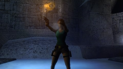 Screenshot from PSP version